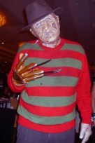 """Freddy dropped by insisting he was the """"real"""" Cursed Man..."""