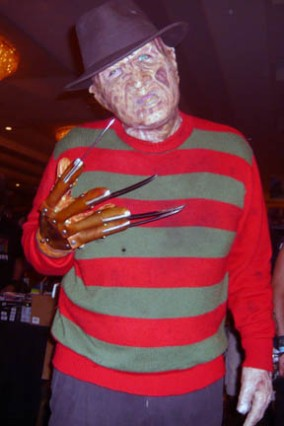 "Freddy dropped by insisting he was the ""real"" Cursed Man..."