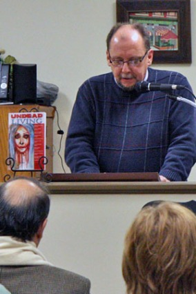 "Thomas Malafarina reading from ""Undead Living"""