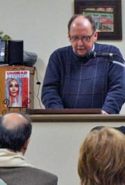 """Discussing my latest Sunbury Press Project """"Undead Living"""" and reading an excerpt from my short story """"Even The Great Will Fall"""" - The goriest scenes."""