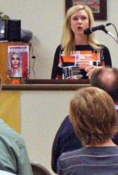 "Catherine Jordan, Contributing Author in ""Undead Living"" talking about her story ""The Supreme Race"""