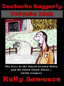 """Deutsch Baggerly Private Dick"" By Kelly Jameson - Illustrations by Thomas M. Malafarina"