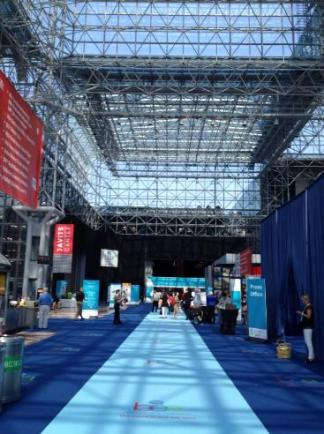 Entrance to show.