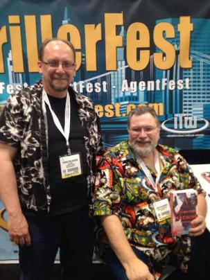 Meeting best selling author and Bram Stoker Award Winner Jonathan Mayberry