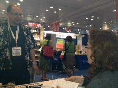 Meeting Sunbury Press author Mary Dimino